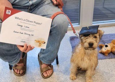 George Graduating
