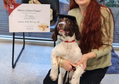 Ziggy Graduating